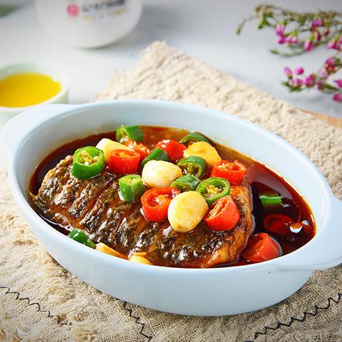 记忆南塘-香辣烤鱼
