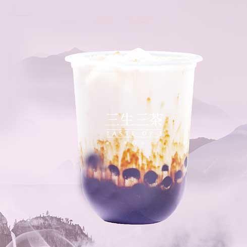 三生三茶-雪泡奶茶