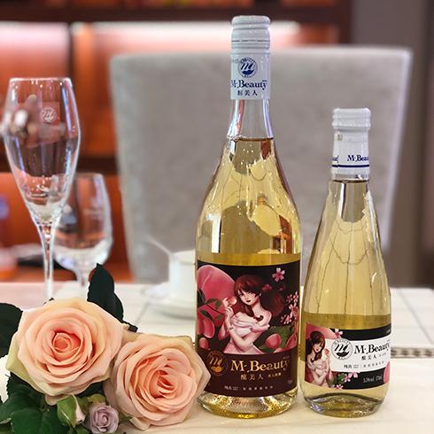 酩美人美人的酒-玫瑰酒