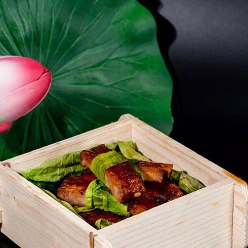 荷愿荷叶饭-菜包肉