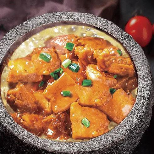 荷愿荷叶饭-黄焖鸡