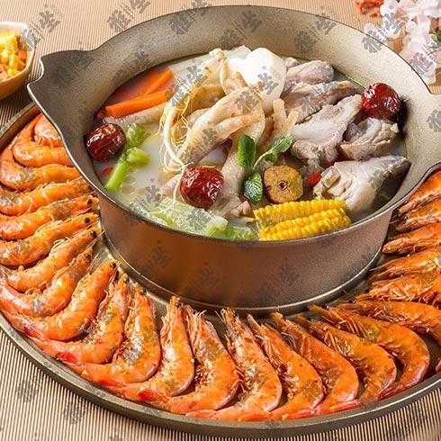雅坐涮烤锅王-鲜鱼大虾