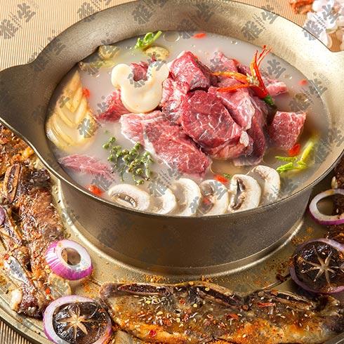 雅坐涮烤锅王-牛肉锅