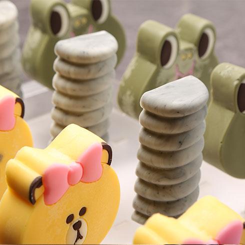 诺尔哈根-3D卡通冰淇淋