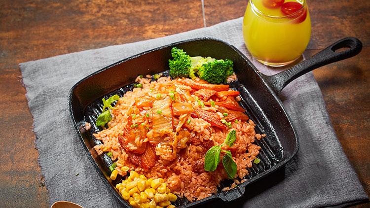 李灰蛋-培根腊肉炒饭