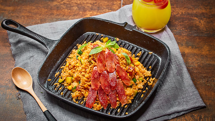 李灰蛋-黄金腊肉炒饭