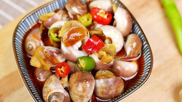 阁下的虾-凉拌海螺