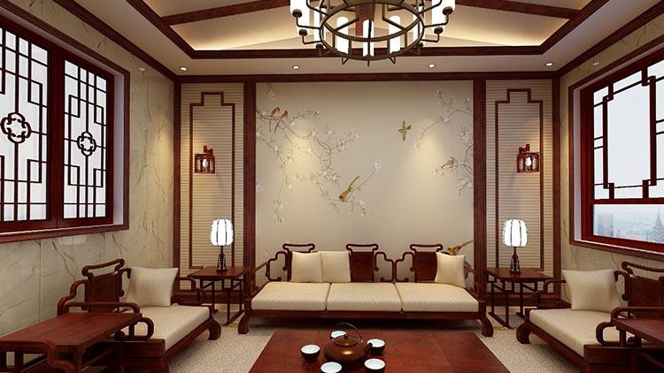智乐居-古典客厅