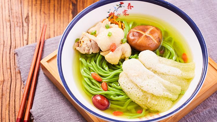 清悠面馆-竹荪老鸡汤面
