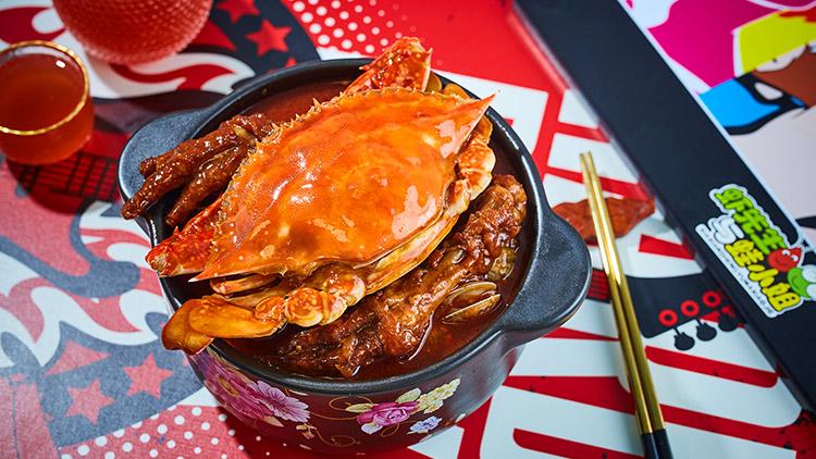 虾先生与蛙小姐-香卤蟹和凤爪