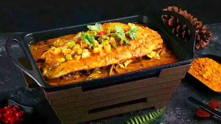 奔波儿灞-美味烤鱼