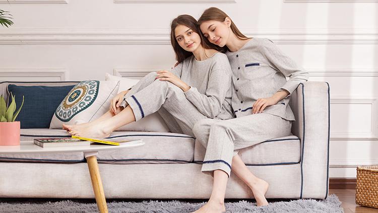 欧林雅-棉质睡衣