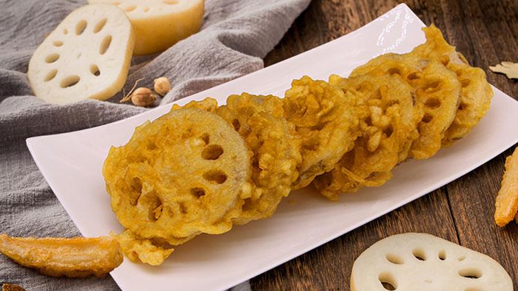 卤小丫-炸藕片
