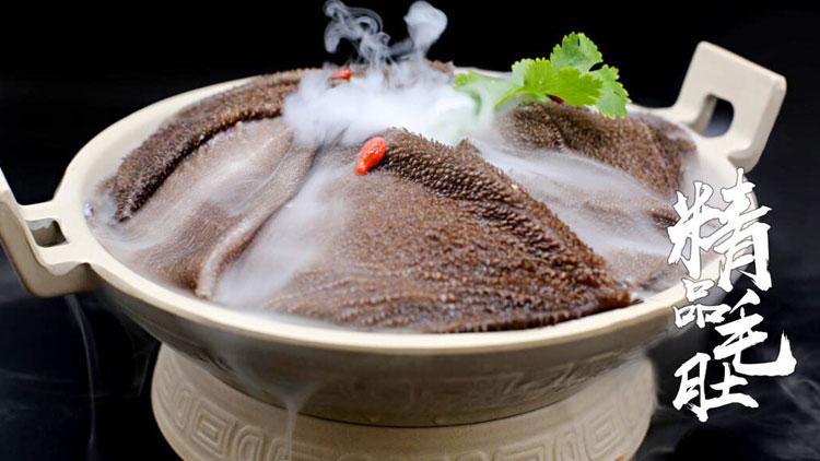 辣奇鲜菜老火锅-精品毛肚
