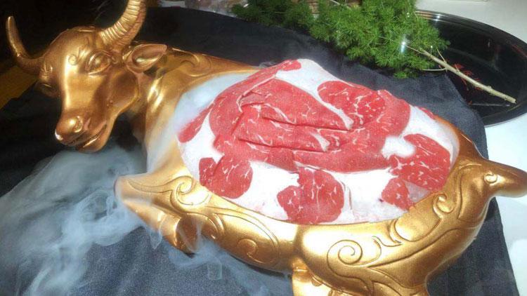 辣奇鲜菜老火锅-牛眼肉