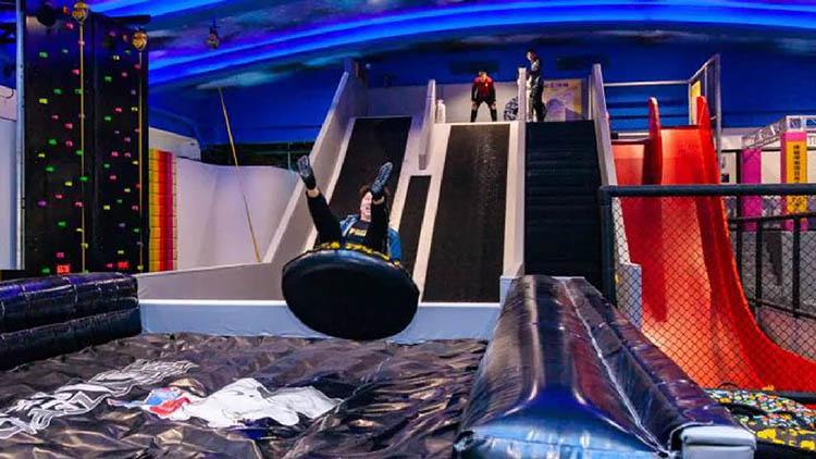 淘嘻乐运动乐园-旱地滑梯
