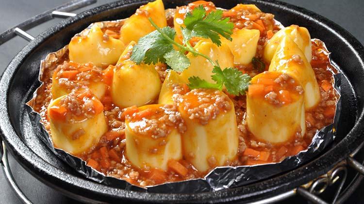鲜豆人家-肉沫豆腐
