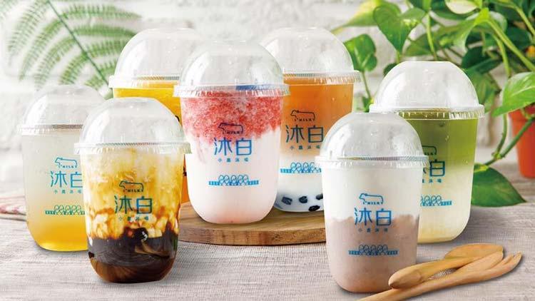 沐白奶茶-产品合照