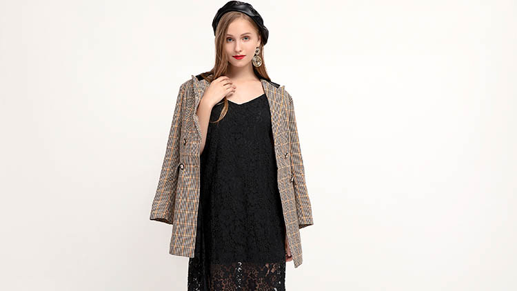 木丝语-黑色长裙