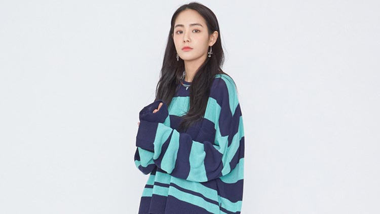 木丝语-蓝格间衫