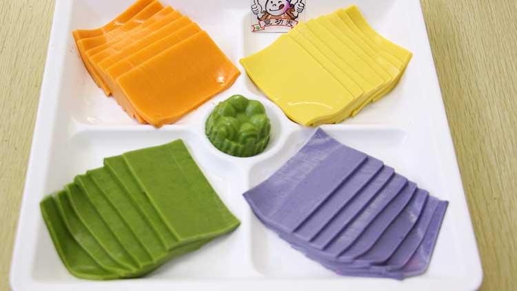 豆功夫-多彩豆腐