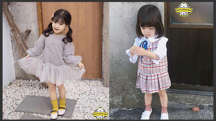 小黄麦童装-潮范连衣童裙