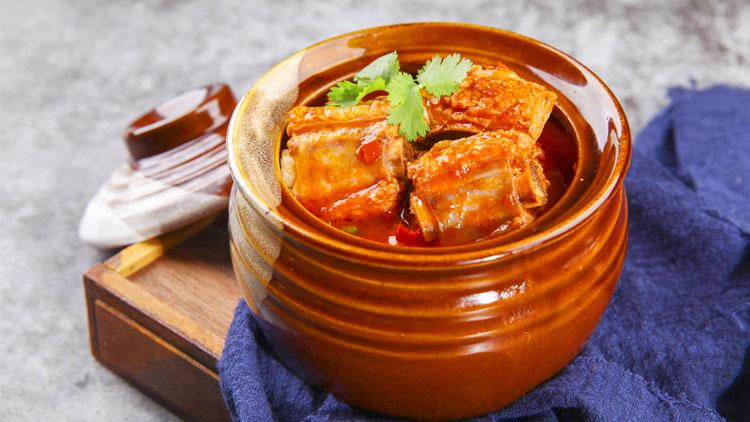 瓦罐香沸小吃快餐-瓦罐红烧排骨套餐