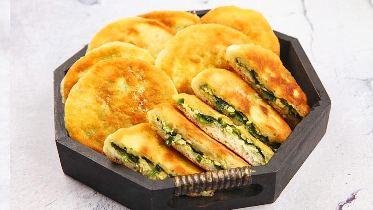 瓦罐香沸小吃快餐-风味鲜油饼
