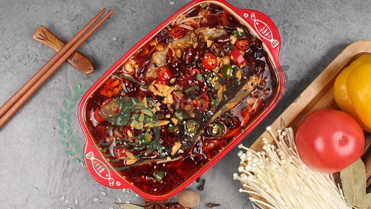 鱼谷稻烤鱼饭-麻辣烤鱼饭套餐