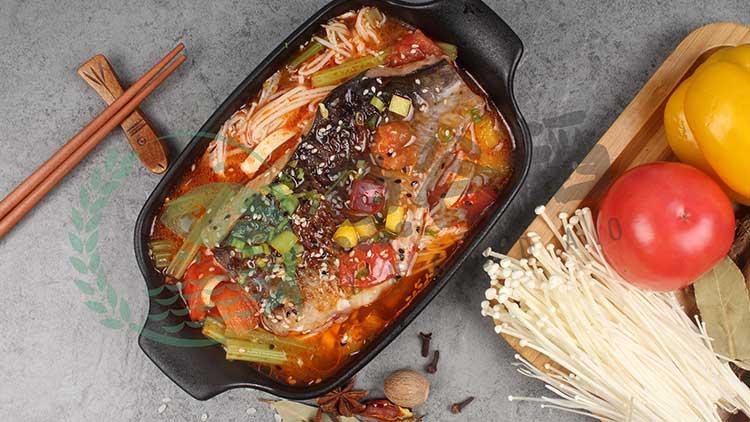 鱼谷稻烤鱼饭-泡椒烤鱼饭套餐