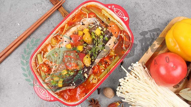 鱼谷稻烤鱼饭-香辣烤鱼饭套餐