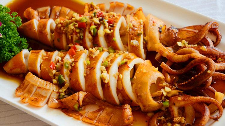 虾客食光龙虾烧烤-香辣鱿鱼