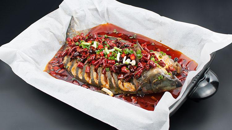 巴国无刺纸包鱼-香辣烤鱼