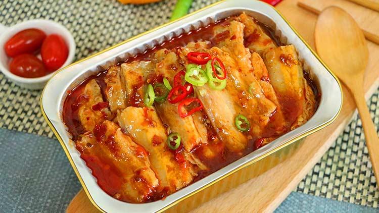 辣悟四宝锡纸烧-回锅肉套餐