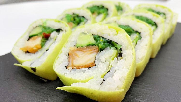 卷卷の店手卷寿司-青菜寿司