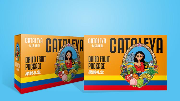 卡塔利亚进口零食-果脯礼盒